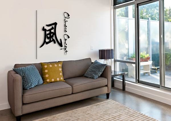 CHINESE CONCEPT 45A CHINESE CONCEPT  Canvas Print