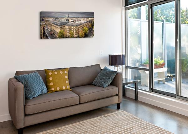 PARIS FABIEN DORMOY  Canvas Print