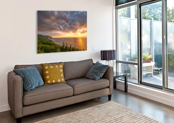 THE ENDLESS SUN MICHEL SOUCY  Canvas Print