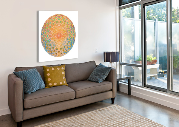 LIFE GEOMETRY ART DESIGN WORKS  Canvas Print