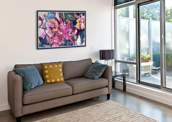 ORCHIDS BLOOMING   GLORIA NOVA  Canvas Print