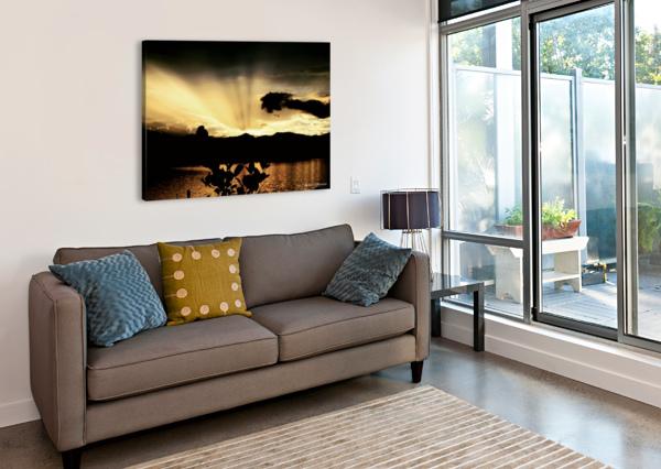RAY OF LIGHT AMBER NORCROSS  Canvas Print