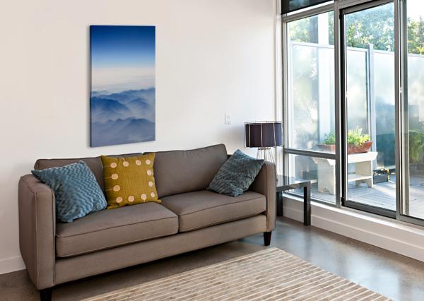 JAPANESE MOUNTAINS TONY FORCUCCI  Canvas Print