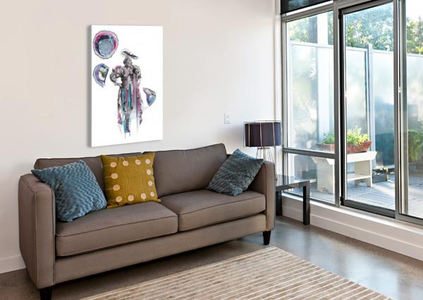 HERERO WOMAN 6 MARIE-DENISE DOUYON  Impression sur toile