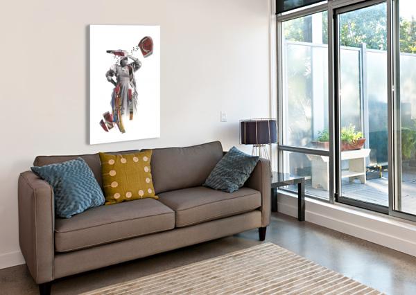 HERERO WOMAN 1 MARIE-DENISE DOUYON  Impression sur toile