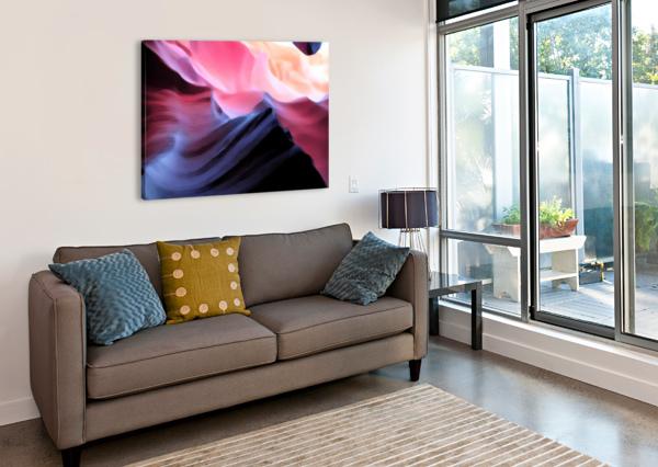 BLUE CANYON CONNIE SCHOFIELD ART  Impression sur toile