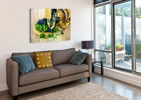 WINE TASTING DECOR BY CANVAS  Canvas Print