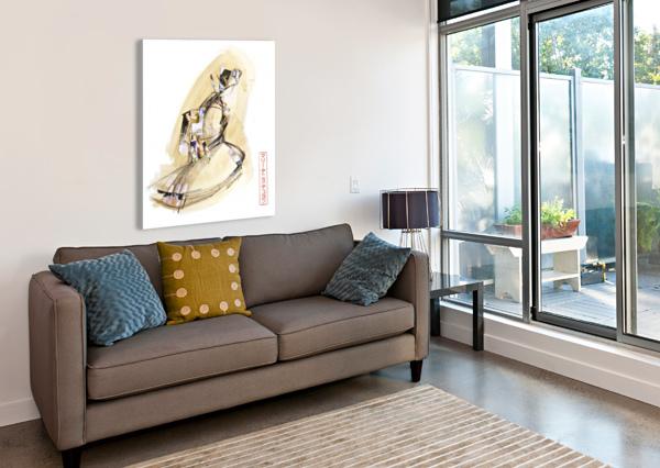 FAA_KREOL NIPPON 01 MARIE-DENISE DOUYON  Canvas Print