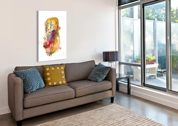 KREOL MAGHRIBIA_1 MARIE-DENISE DOUYON  Canvas Print