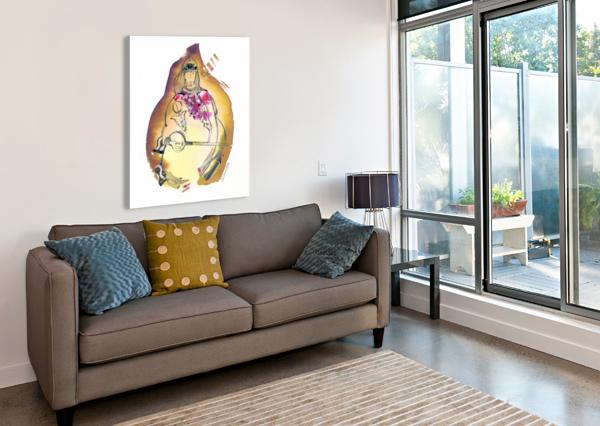 KREOL MAGHRIBIA_2 MARIE-DENISE DOUYON  Canvas Print