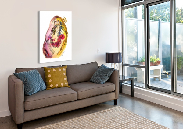 KREOL MAGHRIBIA_3 MARIE-DENISE DOUYON  Canvas Print