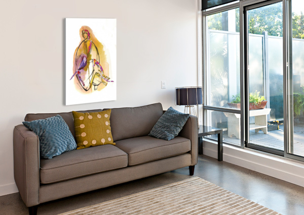 KREOL MAGHRIBIA_6 MARIE-DENISE DOUYON  Canvas Print