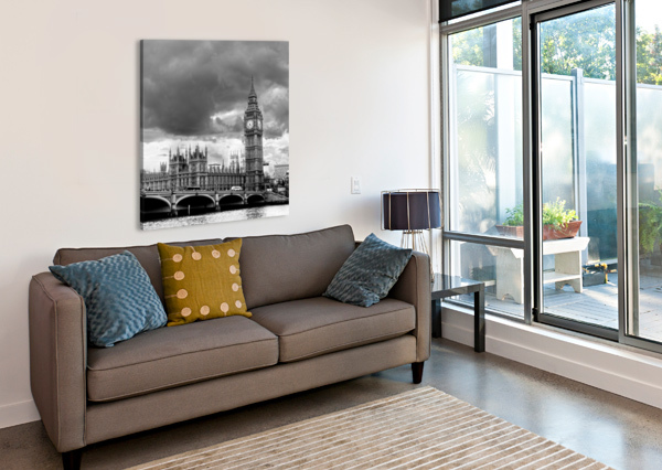 LONDON FROZEN IN TIME BUNNOFFEE PHOTOGRAPHY  Canvas Print