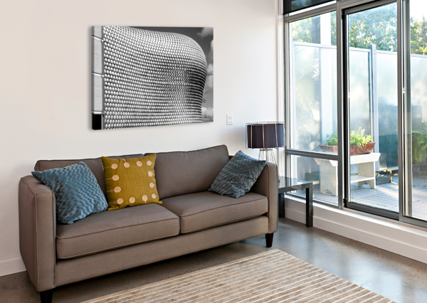 SELFRIDGE BUILDING BIRMINGHAM BUNNOFFEE PHOTOGRAPHY  Canvas Print