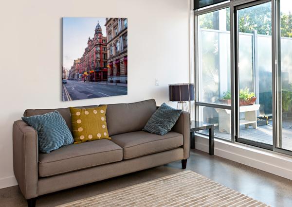 LIVERPOOL STREET BUNNOFFEE PHOTOGRAPHY  Canvas Print