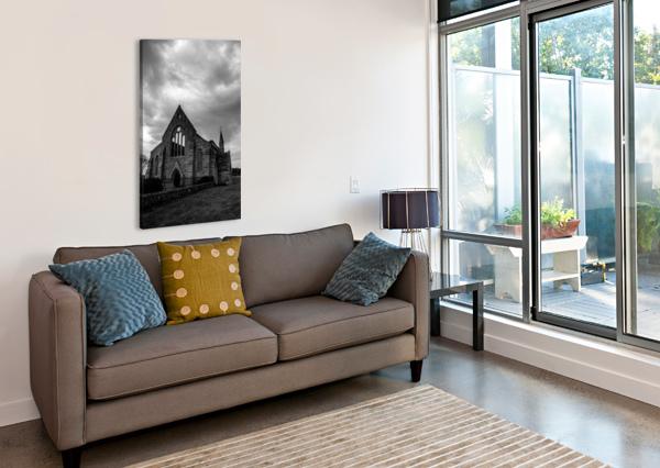 GARRISON CHURCH PORTSMOUTH BUNNOFFEE PHOTOGRAPHY  Canvas Print