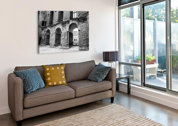 KENILWORTH CASTLE 2 BUNNOFFEE PHOTOGRAPHY  Canvas Print