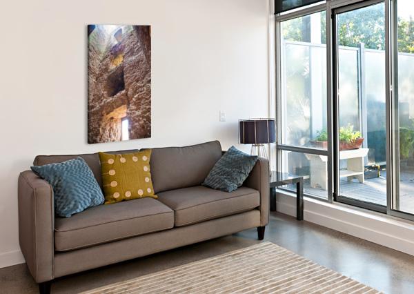 KENILWORTH CASTLE RUINS COLOUR BUNNOFFEE PHOTOGRAPHY  Canvas Print