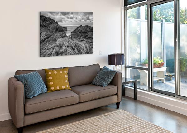 ROCK OF AGES MICHEL SOUCY  Canvas Print