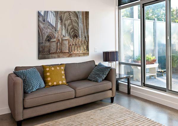 LITCHFIELD CATHEDRAL 3 BUNNOFFEE PHOTOGRAPHY  Canvas Print