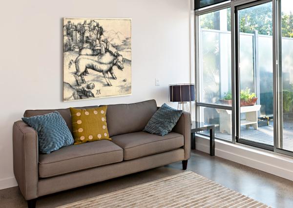 MONSTROUS SOW OF LANDSER ALBRECHT DURER  Canvas Print