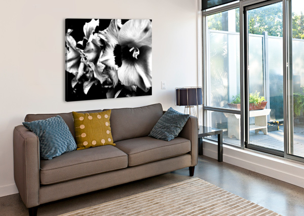 BLACK DIVINE  VORTEXSTYLE   Impression sur toile