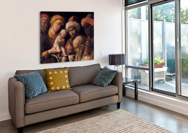 THE ADORATION OF THE MAGI ALBRECHT DURER  Canvas Print