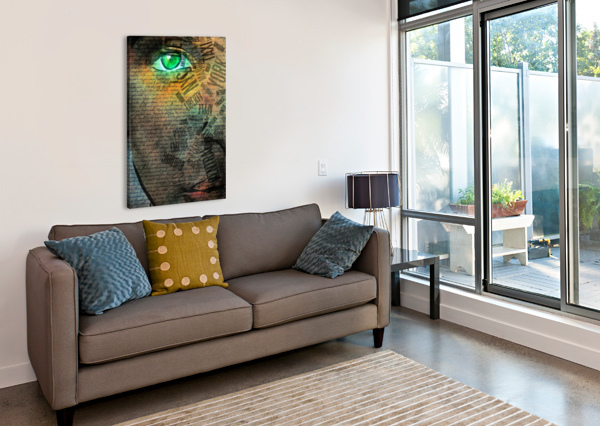 NYC FACE BRUCE ROLFF  Canvas Print