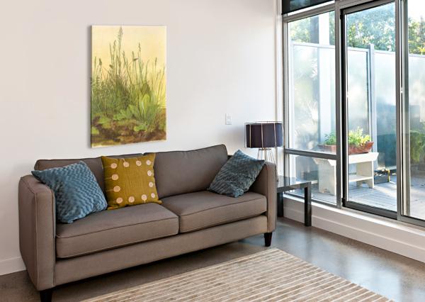 THE LARGE TURF ALBRECHT DURER  Canvas Print