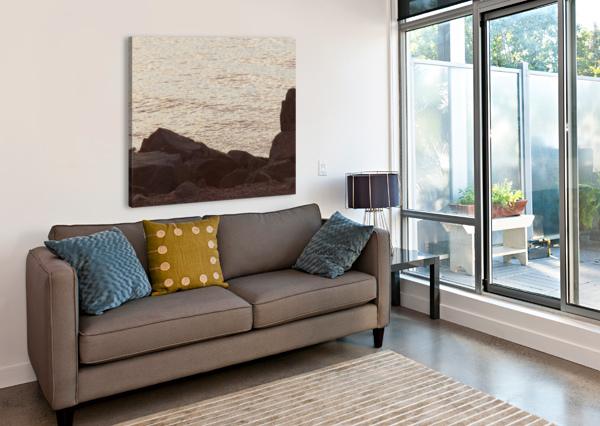 ROCKY SHORE 2 CASTLE GREEN ENTERPRISES  Canvas Print