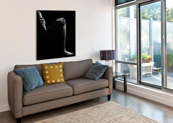 NUDE WOMAN FINE ART 6 JOHAN SWANEPOEL  Canvas Print