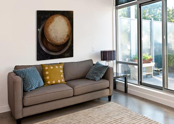 INDIAN FILTER COFFEE RIZU_DESIGNS  Canvas Print