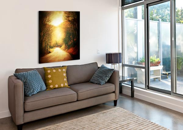 AUTUMNAL LANDSCAPE 2 ANGEL ESTEVEZ  Canvas Print