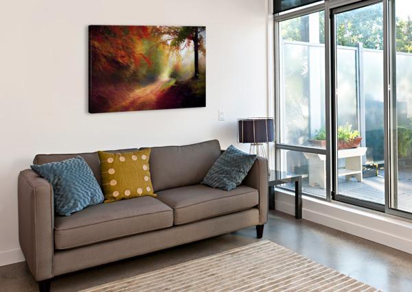 AUTUMNAL LANDSCAPE 5 ANGEL ESTEVEZ  Canvas Print