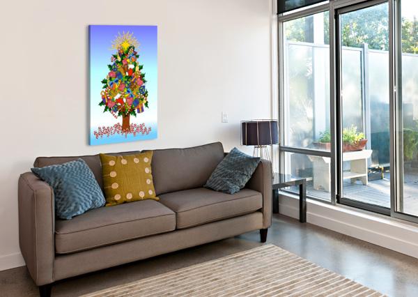JOY OF CHRISTMAS LISA FRANCES JUDD  Canvas Print