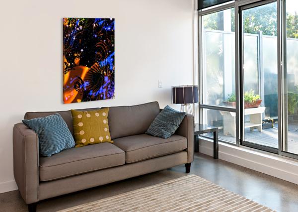 THE IMAGINARY PLANETS SERIES 6 ZUBERI KIBWE  Canvas Print
