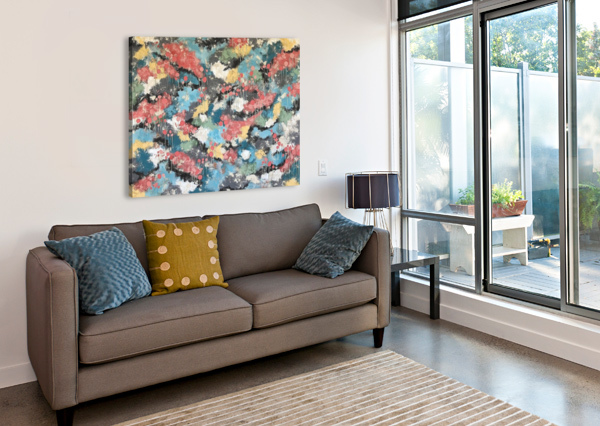 MEANDERING HOME LISA FRANCES JUDD  Canvas Print