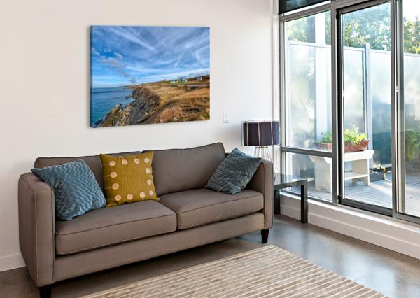 A DRIVE HOME MICHEL SOUCY  Canvas Print