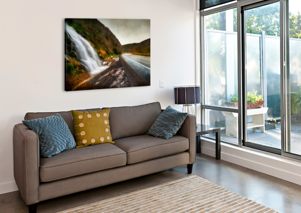 NIAGARA ON THE FRENCH MICHEL SOUCY  Canvas Print