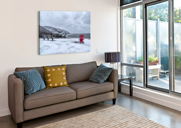 WINTER IN THE CBHNP MICHEL SOUCY  Canvas Print