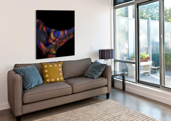 BODY  JEAN-FRANCOIS DUPUIS  Canvas Print