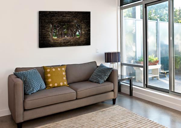 INTERTWINED JONGAS PHOTO  Canvas Print