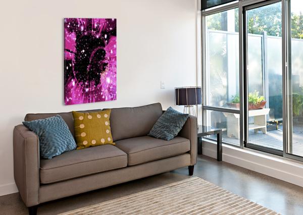 THE POWER OF COLORS SERIES 1 ZUBERI KIBWE  Canvas Print