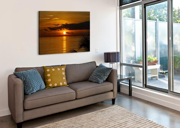 SUNRISE AT CAYMAN KAI TOMMIKEE  Canvas Print