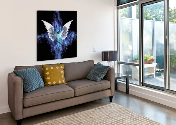 WINGS PAINTING BRUCE ROLFF  Canvas Print