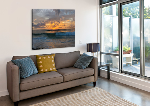 ELEUTHERA NEW DAY TOMMIKEE  Canvas Print