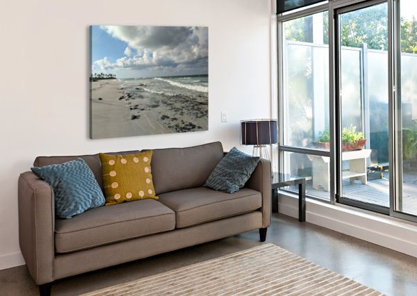 ELEUTHERA DESERTED BEACH TOMMIKEE  Canvas Print