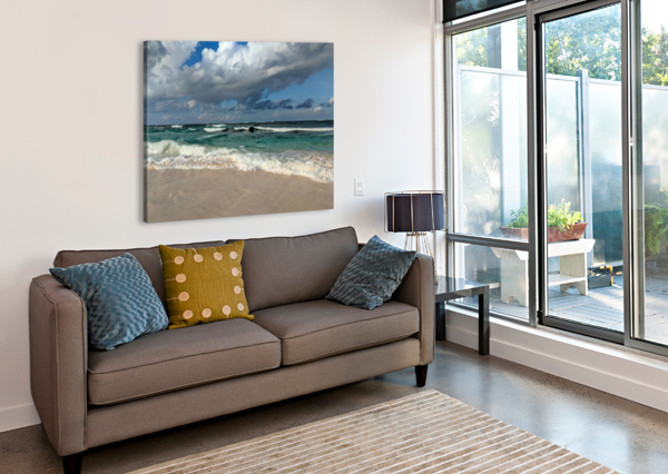 ELEUTHERA ENDLESS WAVES TOMMIKEE  Canvas Print