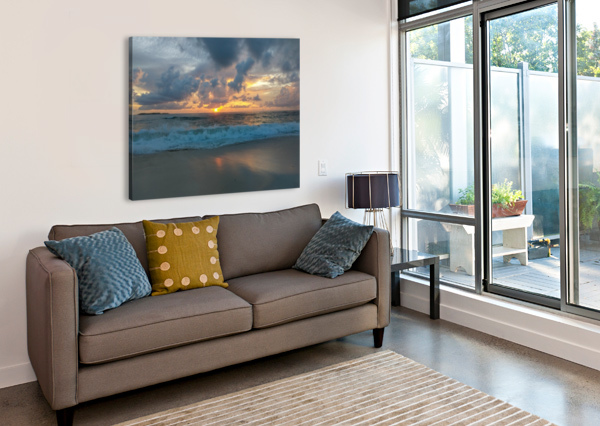 ELEUTHERA MORNING ON THE BEACH TOMMIKEE  Canvas Print