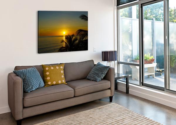 CARIBBEAN SUNRISE TOMMIKEE  Canvas Print